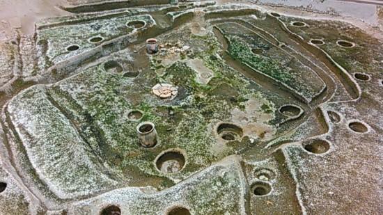 弥生時代の竪穴式住居